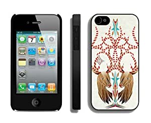 diy phone caseProvide Personalized Customized Christmas Deer iPhone 4 4S Case 3 Blackdiy phone case