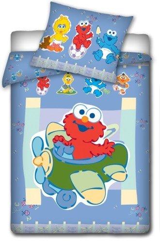 Kinderbettwäsche Sesamstrasse 100x135 cm Bettwäsche Elmo