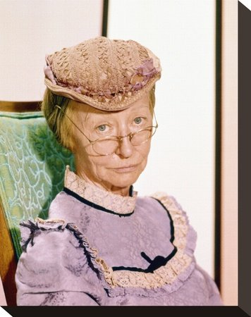 The Beverly Hillbillies Irene Ryan Print on Canvas