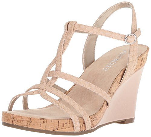 Plush Aerosoles Pink Snake Wedge Sandal Song Women's 8FqZpg