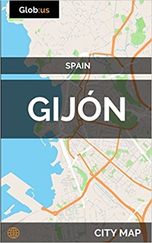 Gijon Spain Map.Gijon Spain City Map Jason Patrick Bates 9781973148371 Amazon