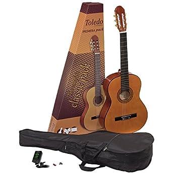 Toledo GP-44NT Pack de Guitarra española: Amazon.es: Instrumentos ...