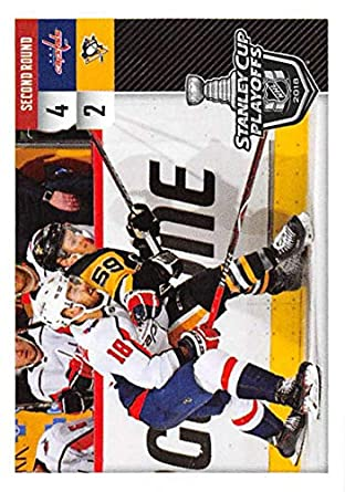 b282397bc68 Amazon.com  2018-19 Panini NHL Stickers Hockey  555 Washington Capitals vs. Pittsburgh  Penguins Pittsburgh Penguins  Collectibles   Fine Art