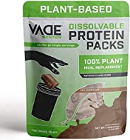 Vade Nutrition Dissolvable Plant-Based Meal Replacement Packs | Chocolate | On-The-Go, 100% Vegan, 26 Vitamins