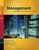 img - for Management: Challenges for Tomorrow's Leaders (with InfoTrac 1-Semester) (Available Titles CengageNOW) book / textbook / text book