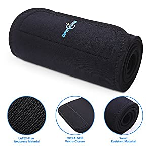 OpeCking Waist Trimmer Belt, Slimmer Kit, Weight Loss Wrap, Stomach Fat Burner, Low Back and Lumbar Support with Sauna Suit Effect, Best Abdominal Trainer