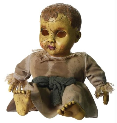 [HAUNTED DOLL WITH SOUND] (Halloween Prop)