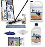 Bona Hardwood Floor Spray Mop, includes 28.75 oz. Cartridge (Bona Family PACK)