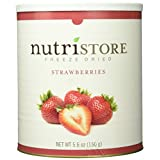 Freeze Dried Strawberries, 100% Preservative Free, No Added Sugar. 160 Grams of All Natural Full Flavor Strawberry in a #10 Can