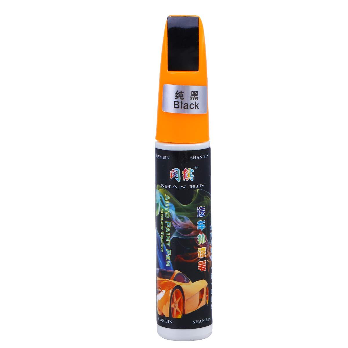 OUNONA Auto Penna di Vernice Graffi Riparazione Vernice per Nascondere Tool (Nero)
