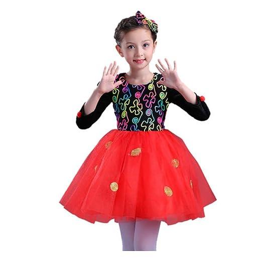 YONGMEI Traje de Baile - Disfraces de Halloween para niños Disfraz ...