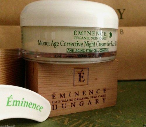 Eminence Monoi Age Corrective Night Cream For Face Neck 4.2 Fl. oz Pro Size