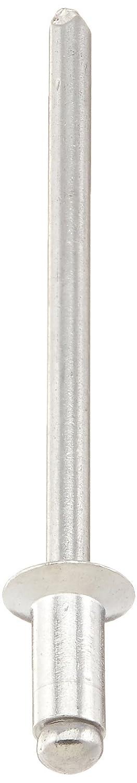 5052 Aluminum Open End Blind Rivet with Aluminum Break Pull Mandrel 0.063-0.125 Grip Range Countersunk Head 1//8 Diameter Meets IFI-114 Grade 11 0.275 Length Pack of 250