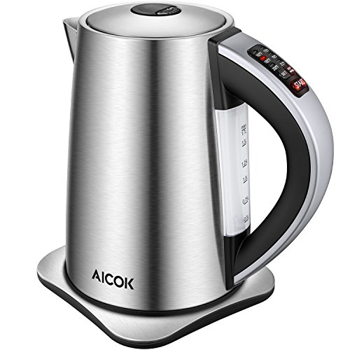 Aicok Stainless Steel Cordless