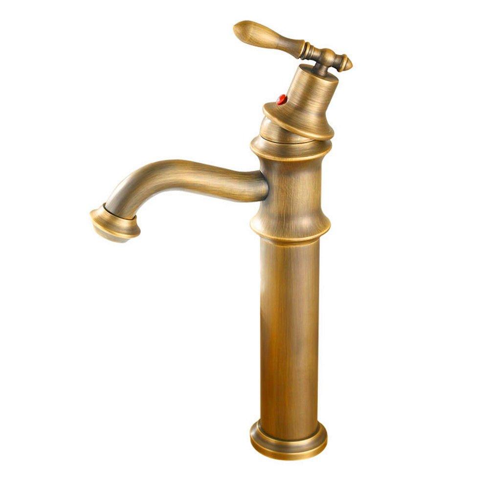 MEIBATH Wasserhahn Küche Mischbatterie Spülbecken Armatur Küchenarmatur Spültischarmatur Messing antik Wasserhahn