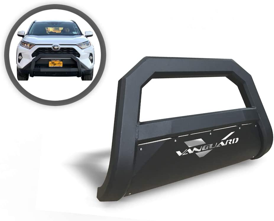 VANGUARD VGUBG-1890-0982BK Black Optimus Wide Bull Bar Compatible with 13-20 Ford Escape Excludes Titanium Models