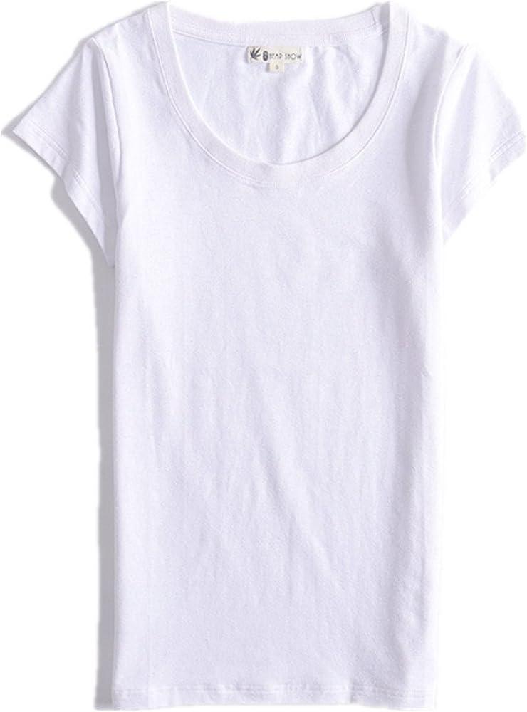 Hemp Show - Camiseta - Manga Corta - para Mujer Blanco Blanco X ...