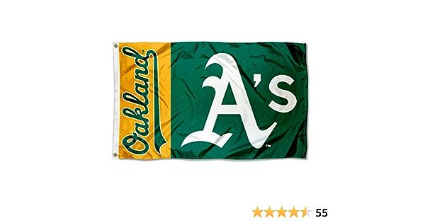WinCraft Oakland Athletics Flag 3x5 As Banner