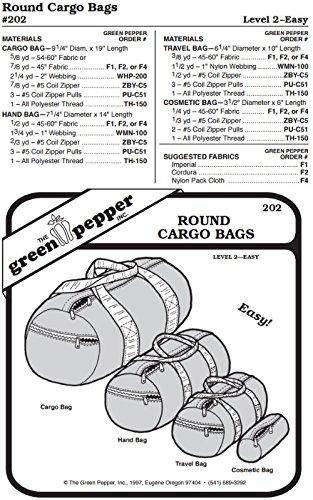 Round Bag Sewing Pattern - 2