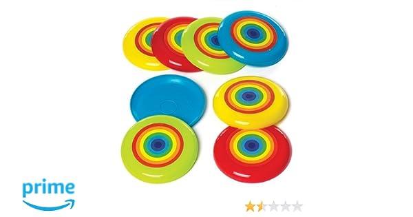 Baker Ross- Discos voladores con Arcoíris (Pack de 8) para Bolsas ...