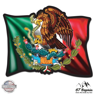 Mexican Flag Black - 3