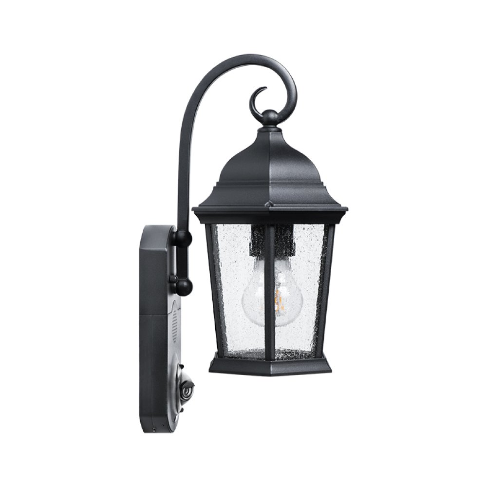 Com Maximus Security Outdoor Light Coach Black Compatible With Alexa Photo