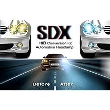 HID Xenon DC Headlight Slim Conversion Kit by SDX, H11, 6000K by SDX