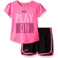 Under Armour Baby Girls' Bodysuit OR Infant Tee/Tank Short Sets