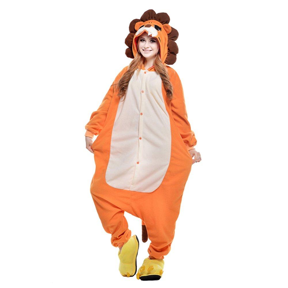YFCH Unisex Adult Tier Onesie Pyjama Cosplay Kostüme Schlafanzug Erwachsene Jumpsuit B07FG7ZJFL Kostüme für Erwachsene Spezielle Funktion | Auf Verkauf