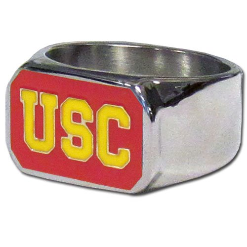 (NCAA USC Trojans Steel Bottle Opener, Ring Size)