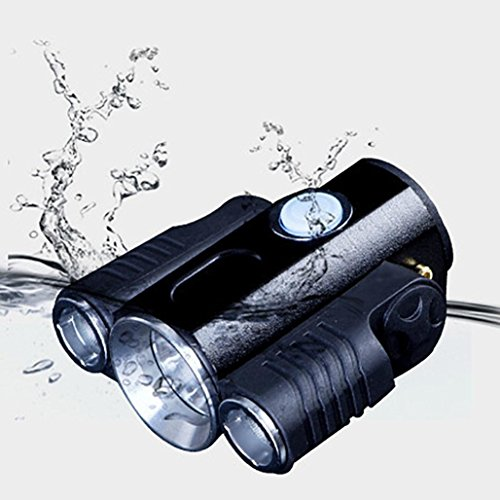 Price comparison product image Boofab Bicycle HeadlightBike Light LED Bicycle Lights USB Rechargeable Bicycle Headlight IPX6