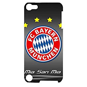 3D FC Bayern Munchen Contract Durable Phone Case for Ipod Touch 5th Generation FC Bayern Logo