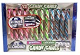 Klondike Ice Cream Flavored Christmas Candy Canes, Pack of 12, 5.29 oz