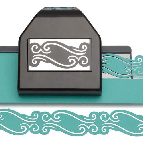 EK Paper Shapers Punch Lg Edger Scroll Chain ()