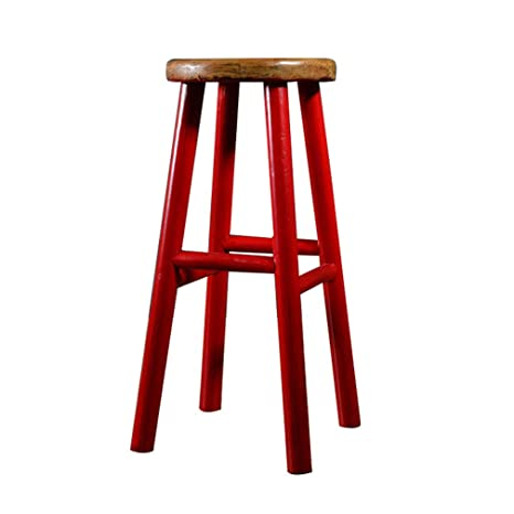 Superb Amazon Com Barstool Wooden Tall Stools Pub Counter Bar Spiritservingveterans Wood Chair Design Ideas Spiritservingveteransorg