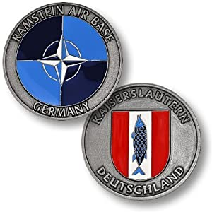 Ramstein Air Base Germany Challenge Coin