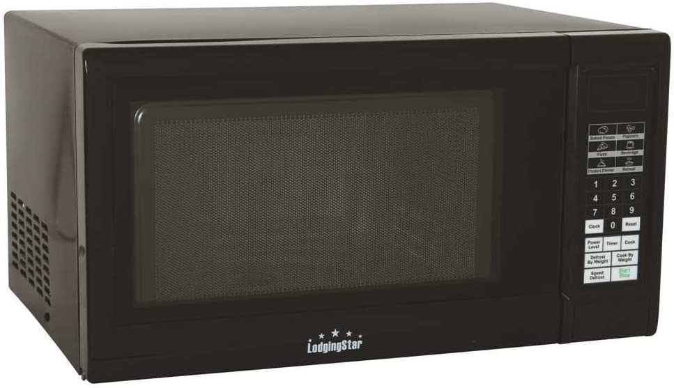 National 796524 Lodging Star 1.1 Cu. Ft. Digital Panel Microwave Oven