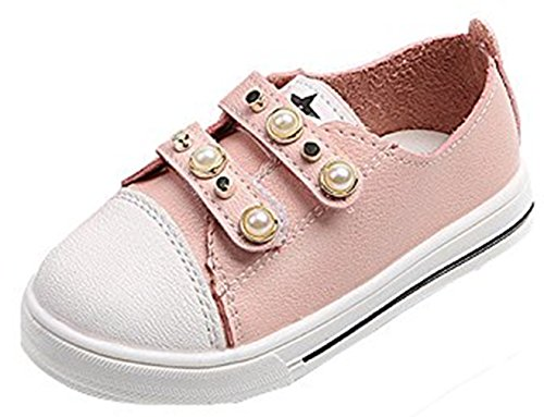 Lanhui_New Fashion Babys Pearl Casual Sneakers Shoes Outdoor Cute Shoes Pink