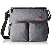 Skip Hop Dash Signature Diaper Bag, Heather Grey