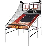 Basketball Espn Premium 2-player Basketball Game with Authentic Clear Backboard by ESPN