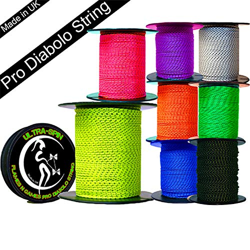 Henrys Diabolo Replacement String Roll 25m Yellow
