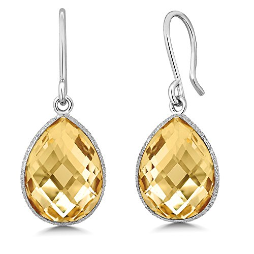 Shape Citrine Wedding Set - 9