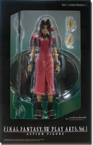 Final Fantasy Vii Play Arts Vol 1 Aerith Gainsbo Amazonde Spielzeug