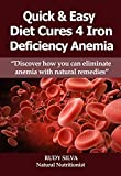Quick and Easy Diet Cures:Eliminate Iron Deficiency