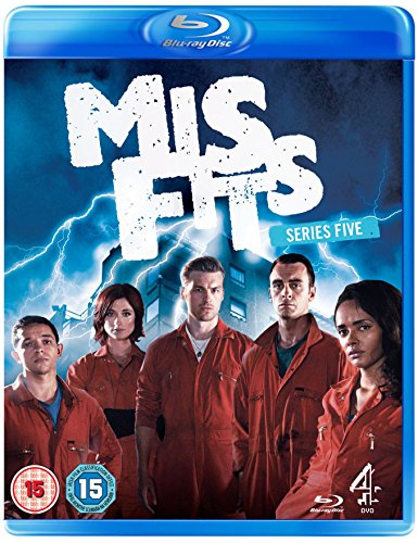 Misfits - Series 5 [Blu-ray]