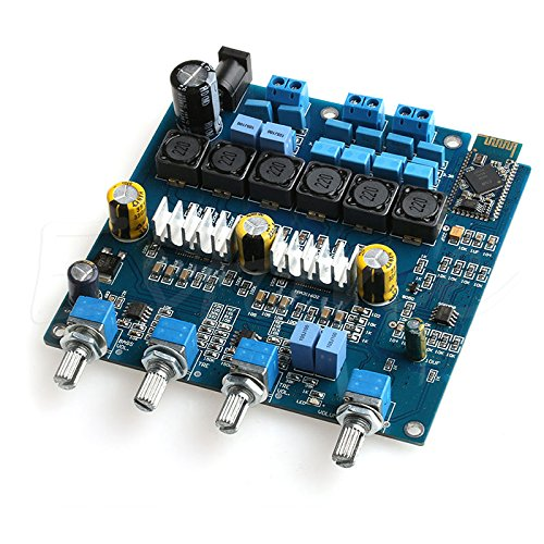 SODIAL(R) TPA3116 2.1 50WX2+100W+ Bluetooth Class D power amplifier Completed board 126339