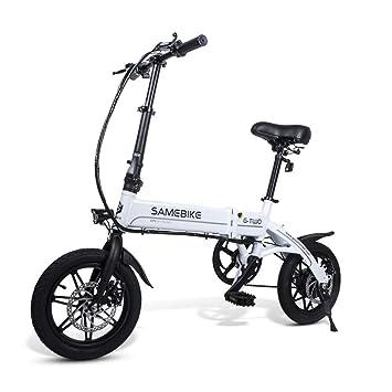 OD-B Bicicleta Eléctrica Plegable 14 Pulgadas 25 Km/H Ebike ...
