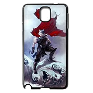 Generic hard plastic Thor Cell Phone Case for Samsung Galaxy Note 3 Black ABC83