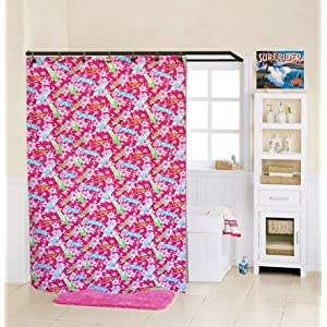 51kScLJjBKL._SS300_ 200+ Beach Shower Curtains and Nautical Shower Curtains