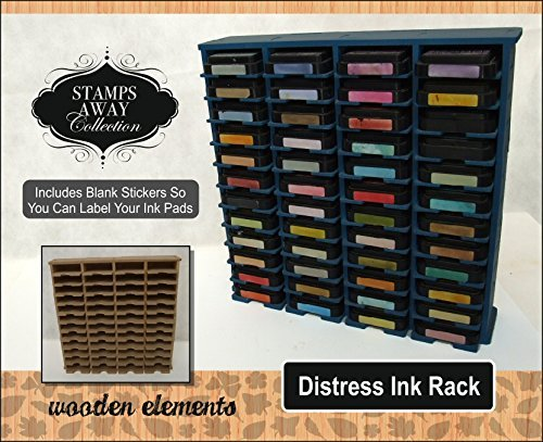 St&s Away - Ink Rack (Holds 48 Tim Holtz Distress Ink Pads) Amazon.co.uk Toys u0026 Games & Stamps Away - Ink Rack (Holds 48 Tim Holtz Distress Ink Pads ...
